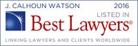 Best Lawyers - Cal Watson