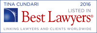Best Lawyers - Tina Cundari